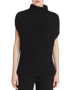 Vince Funnel Neck Ribbed Sweater | Bloomingdale's