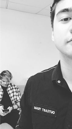 calum & michael on 5sos's instagram - august 27, 2017