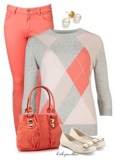 """Preppy in Argyle II"" by bitbyacullen ❤ liked on Polyvore featuring Witchery, Ted Baker, Call it SPRING and Saks Fifth Avenue"