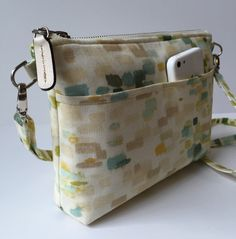 Purse Pattern PDF Jenny Crossbody Bag by MergeBags on Etsy                                                                                                                                                                                 More