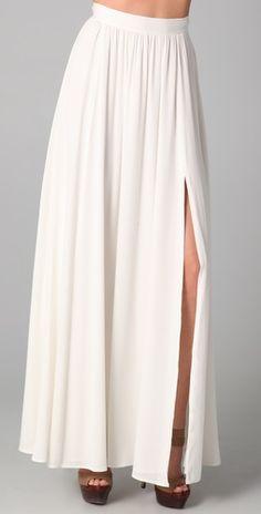 Rachel Zoe  Silk Vanessa Maxi Skirt. It's only $495 but I still want it!