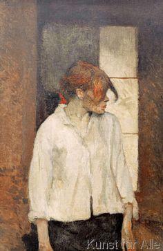 Henri de Toulouse-Lautrec - A Montrouge-Rosa la Rouge