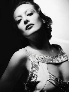 Joan Crawford - 1932 - Letty Lynton - Costumes by Adrian - Photo by George Hurrell - http://georgehurrell.com/