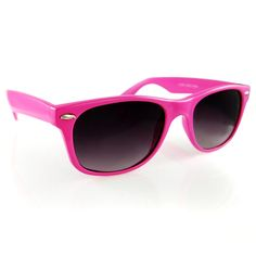 I will be getting some pink sunglasses. This is the summer of pink.