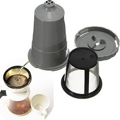 Durable Metal Coffee Filter Mesh Reusable Cup Maker *** See this great product.