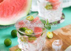 Rezept Wassermelonen Mojito Rezept Wassermelone Erfrischende Sommercocktails Sommer Cocktails