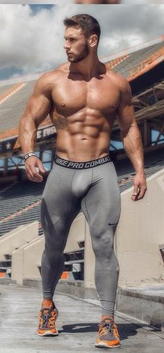 bulges, musclemen, lycra and bearded men ...