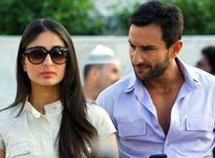 Saif and Kareena in shooting