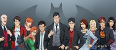 Batman, his Robins, and his Batgirls over the generations featuring: Bruce Wayne (as Batman) Dick Grayson (as Robin, Nightwing, and Batman) Barbara Gordon (as Batgirl and Oracle) Jason Todd (as Rob. Dc Comics, Batman Comics, Superhero Family, Bat Family, Nightwing, Batgirl, Wayne Family, Son Of Batman, Team Arrow