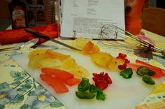 Proyecto 365 de @Ana G. Kato: 004 - Tabla de fruta escarchada.