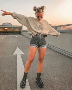 Cute Casual Outfits, Edgy Outfits, Mode Outfits, Retro Outfits, Vintage Outfits, Soft Grunge Outfits, Edgy School Outfits, 90s Grunge, Summer Grunge