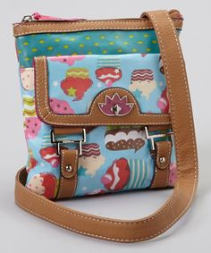 Loving this Lily Bloom Bake Sale Crossbody Bag on #zulily! #zulilyfinds