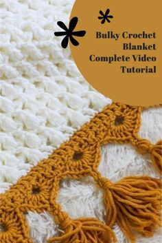 Crochet Afgans, Knit Or Crochet, Learn To Crochet, Free Crochet, Crochet Blankets, Crochet Blanket Tutorial, Afghan Crochet Patterns, Puff Stitch Crochet, Crochet Stitches
