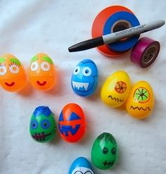 Monster eggs!! These are freaking cute!!