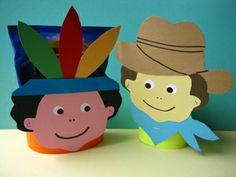 kids crafts treat cowboy native traktaties ook te bestellen