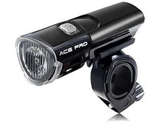 CREE LED Front Bike Light - Ultra BRIGHT 3W Bicycle Light - Tool-Free Quick Release 3 modes - 100% Guarantee - See and Be Seen with Ace Pro Ultra! -- More info could be found at the image url.
