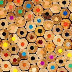 pencils, cut would make a great mosaic medium.