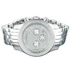 Luxurman Mens Watches Floating Diamond Watch « Clothing Adds for your desire