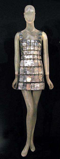 http://www.pinterest.com/joliesarts ∗  ♕Simply Divine #couture ~ avant garde ~ Paco Rabanne 1967