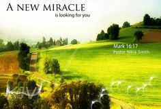 A new miracle is looking for you.
