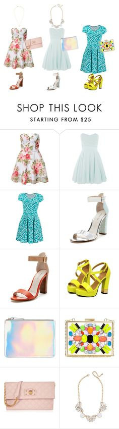 """""""Summer party"""" by momockapai ❤ liked on Polyvore featuring Rare London, TFNC, Wythe NY, The Mode Collective, River Island, Marc Jacobs and Jeweliq"""