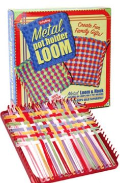 Metal Loom for making pot holders(they hurt when you stepped on them!)