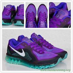 b0834ec1073 621077-500 Nike Air Max 2014 Hiperuva Hiperjade oferta zapatillas running