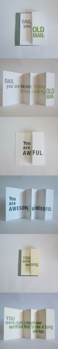 Forgivably deceptive cards. #iwastesomuchtime