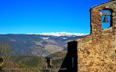 View to the Pyrenees, Esglesia of El Ges, Cadi, Alt Urgell, Pre-Pyrenees, Catalunya, Spain   Barcelona Airport ! , Costa Brava & Catalunya The best excursions in Barcelona with pleasure; your guide to Catalonia and Spain http://barcel