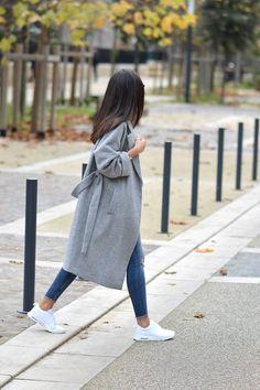 JUNESIXTYFIVE - Manteau gris