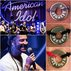 """Thank you AmericanIdolTour for sharing your WORDs and stories!  @nickfradiani @iamtyannajones @rayvonowen @clarkbeckham @jax @timpakdesign @johnwhittjr @magictylr @kevinpintado"