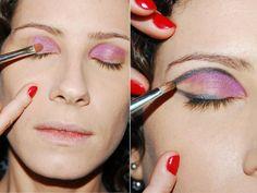 Passo a passo de maquiagem para os olhos - Dicas - Beleza GNT