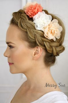 Flower Crown Braid | MissySue.com