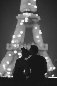 Bucket List: Kiss in Paris. (Ok so honestly I want to kiss like everywhere because I think that's a cool tradition to have with your couple but Paris seems especially cute, especially with this photo. From Paris With Love, My Love, Oh Paris, I Love Paris, Paris City, Best Love Quotes, Romantic Love Quotes, Tour Eiffel, The Kiss
