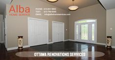 Ottawa Renovations Services Home improvement is both liberating and challenging at times. That's why Alba Home Services offers a comprehensive renovation service that can support you and your household through every step of the restoration and recreation that you have envisioned.