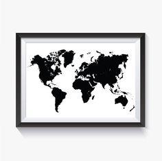 grande carte du monde vierge et blanche compl ter carte europe pinterest carte du monde. Black Bedroom Furniture Sets. Home Design Ideas