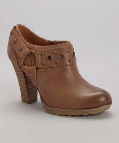 Look what I found on #zulily! Twine Tan Winona Leather Bootie by Söfft #zulilyfinds