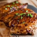 Sweet and Spicy Chicken Thighs - chipotle and applesauce      [Pin It]      15K+     apple butter chipotle chicken This i...