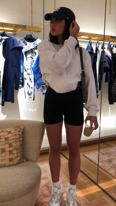 Tomboy Fashion, Teen Fashion Outfits, Look Fashion, Streetwear Fashion, Summer Outfits Women, Sporty Outfits, Mode Outfits, Cute Casual Outfits, Outfits With Hats