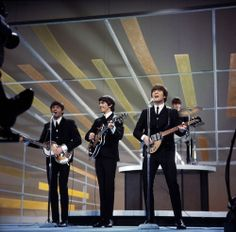 """50 years ago today, February 9th 1964! Don't forget to watch the two-hour CBS special to celebrate the 50th anniversary of the Fab Four's legendary debut performance on """"The Ed Sullivan Show"""""""