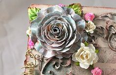 Moments of Tranquility... by Natasha Naranjo Aguirre: Cabbage Rose Tutorial