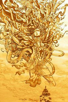 Rudra Shiva, Shiva Shakti, Hindu Deities, Hinduism, Indian Drawing, Baby Buddha, Lord Shiva Family, Shiva Tattoo, Lord Mahadev