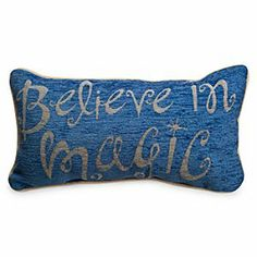 Disney Parks Pillow - ''Believe in Magic'' | Disney StoreDisney Parks Pillow - ''Believe in Magic'' - Nap or night, you'll have only the most magical moments while resting on this dreamy accent pillow with woven cover, backing and soft fiber fill. You'll awaken feeling refreshed and young at heart!