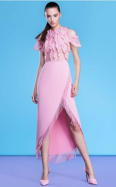 Georges Hobeika - Resort 2018 Ready-to-Wear Collection Pink Fashion, Fashion Dresses, Classic Wedding Dress, Pretty Dresses, Pink Dress, Beautiful Outfits, Ready To Wear, Short Dresses, Style Inspiration
