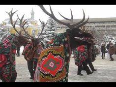 Festivalul de datini si obiceiuri de iarna, Botosani - 20 Decembrie 2009 (part 2) - YouTube Folklore, Romania, Goats, Moose Art, Costumes, Youtube, Animals, Animales, Dress Up Clothes