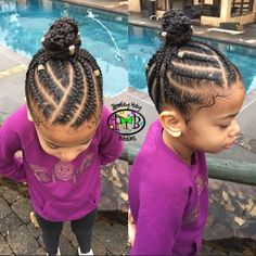 Ballerina bun, or gymnast bun.just depends on the PIB rocking it!💕 🤸🏽♀️ 🤸🏽♀️🤸🏽♀️ —————————————————- Book your PIBS next ѕℓαу today! Little Girls Natural Hairstyles, Toddler Braided Hairstyles, Cute Little Girl Hairstyles, Baby Girl Hairstyles, Natural Hairstyles For Kids, Natural Hair Styles, Simple Hairstyles, Black Hairstyles, Braids For Kids