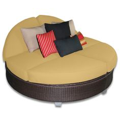 Signature Round Double Chaise Lounge