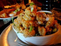 Bang-Bang Shrimp - looking forward to trying this as its the best at Bone fish Grill, yum! Fried Shrimp Recipes, Fish Recipes, Seafood Recipes, Great Recipes, Dinner Recipes, Cooking Recipes, Favorite Recipes, Copycat Recipes, Seafood