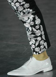 John Galliano menswear s/s 2013