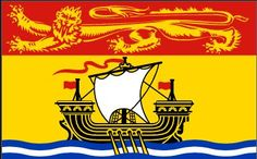 New Brunswick Canada flag
